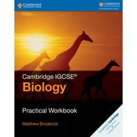 Cambridge International Igcse: Cambridge Igcse(r) Biology Practical Workbook (Paperback)