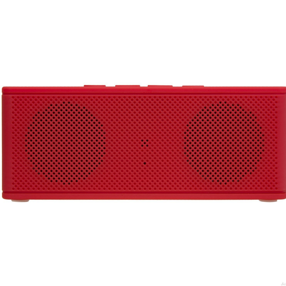 Wireless Bluetooth Speaker Clear Powerful Sound HipBox-Mini Speaker With AUX FM Radio- Red