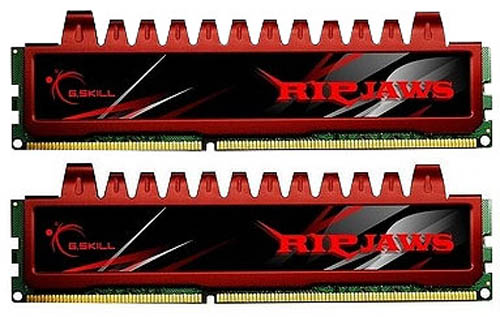 GSKILL F3-12800CL9D-8GBRL Ripjaws 8GB (2x4GB) 240Pin DDR3 PC312800 RAM Memory