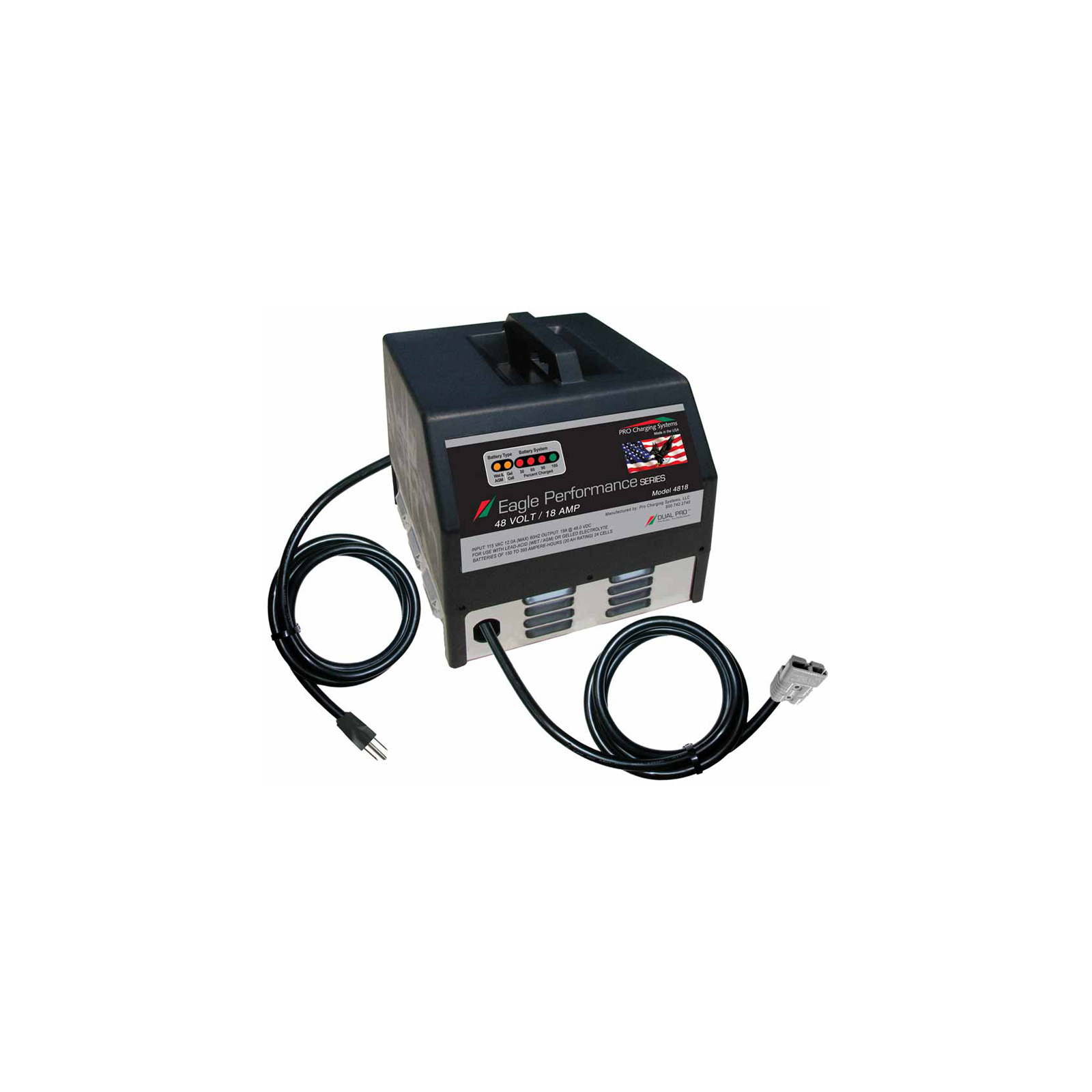 PRO Charging System i1225 Eagle Performance Series E.P.S. 40158 25A per output