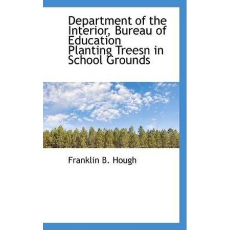 Department Of The Interior  Bureau Of Education Planting Treesn In School Grounds