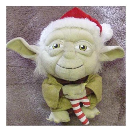 Comic Images Star Wars Santa Yoda Super Deformed Plush