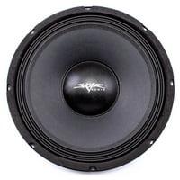 Skar Audio FSX10-8 400-Watt Single 10-Inch 8 Ohm Mid-Range Loudspeaker