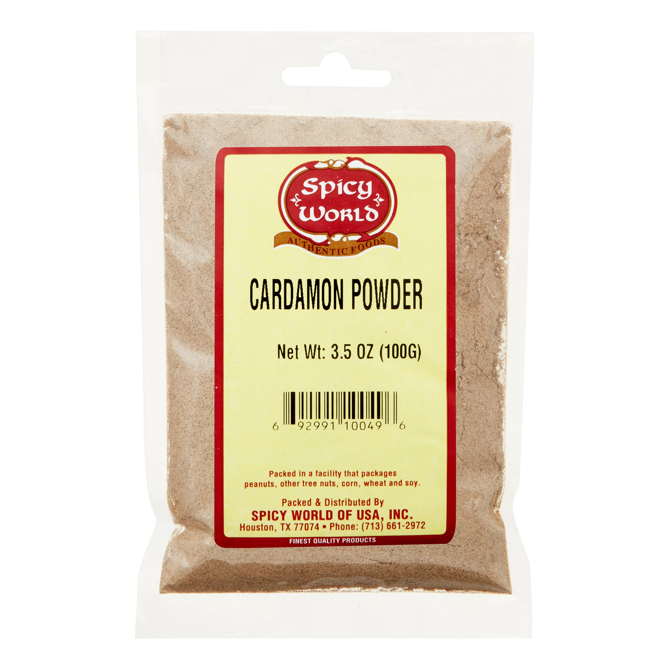 Spicy World Cardamom Powder, 3.5 Oz