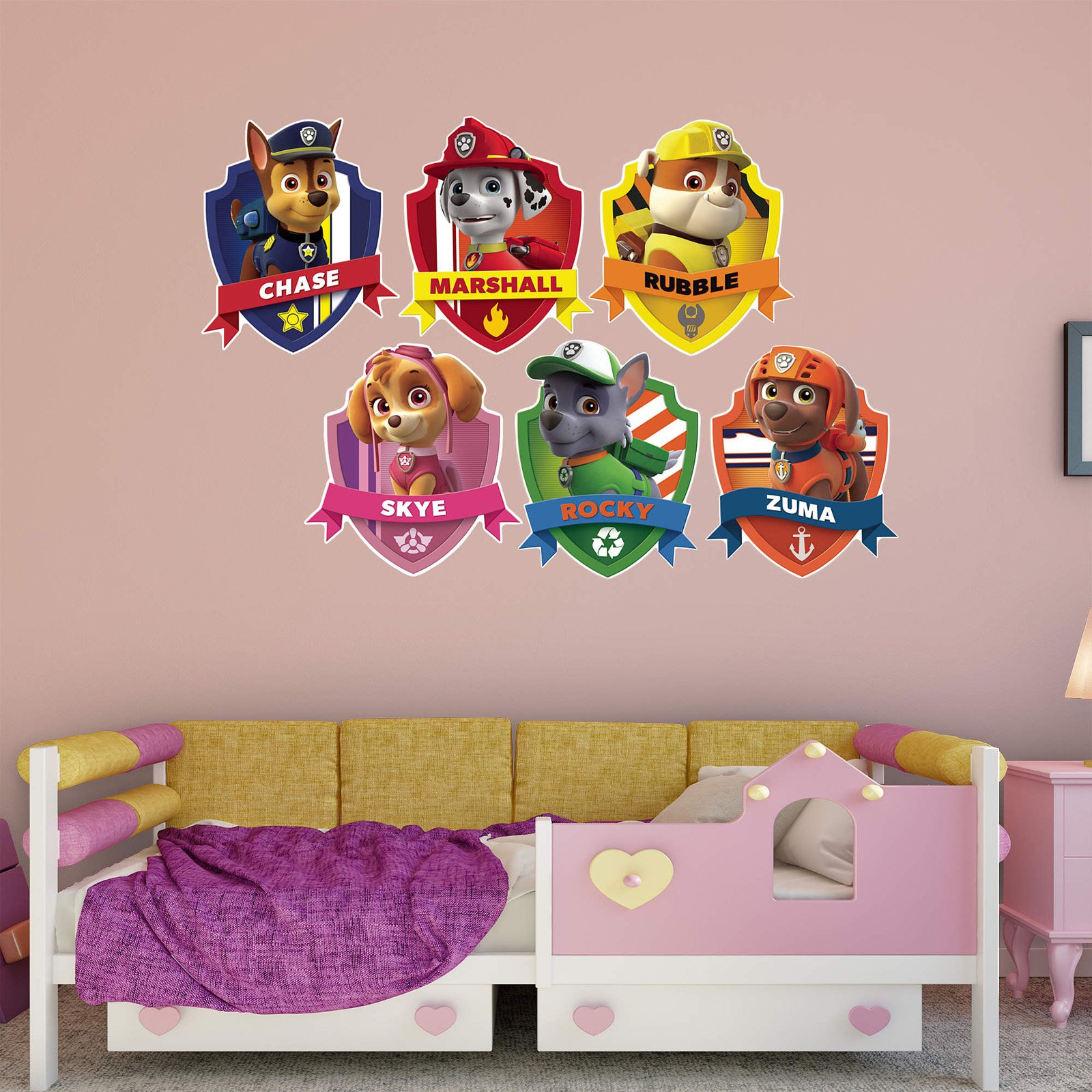 Fathead PAW Patrol PAW Patrol Shields Wall Decal Collection