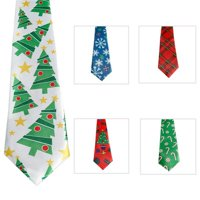 DM Merchandise X-TIE Ugly Christmas Tie  Shiny Finish- pack of 24