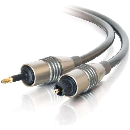 C2G 3M VELOCITYANDTRADE; TOSLINK(R)-TO-OPTICAL MINI PLUG DIGITAL CABLE