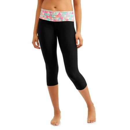 ede2d5e477735 No Boundaries - Juniors' Essential Skinny Capri Yoga Pants - Walmart.com
