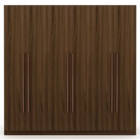 Manhattan Comfort Gramercy Wardrobe Armoire Closet-Color:Brown