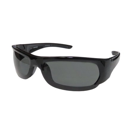 New Harley-Davidson Hd 0625s Mens Sport Full-Rim 100% UVA & UVB Black Popular Shape Sporty Hip Shades Sunnies Frame Polarized Green Lenses 70-11-123 (Polarized Sunglasses Uva Uvb Protection)