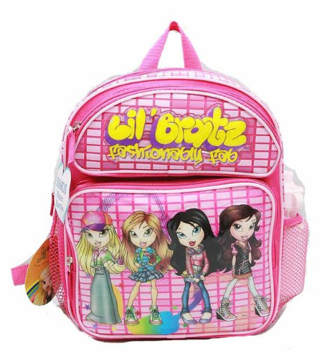 Small Backpack - Bratz - w/ Water Bottle - 4 Girls Standing New Bag bhk000627