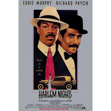 Harlem Nights (1989) 11x17 Movie Poster (Movie Night Decor)