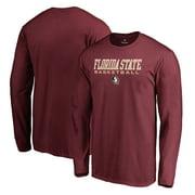 Florida State Seminoles Fanatics Branded True Sport Basketball Long Sleeve T-Shirt - Garnet