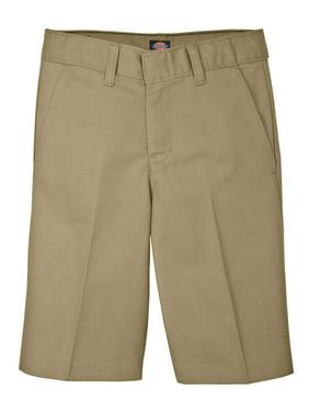 Genuine Dickies 4-20 Boys School Uniform Flex Waist Flat Front Shorts
