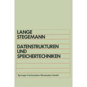 Datenstrukturen Und Speichertechniken (Paperback)