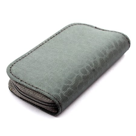 Nylon 22 Slots Storage Carrying Pouch Case Box Bag Gray for CF MMC Micro SD Card - image 1 of 4