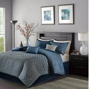 Home Essence Hudson 7-Piece Jacquard Comforter Bedding Set