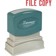 Xstamper, XST1071, FILE COPY Title Stamp, 1 Each
