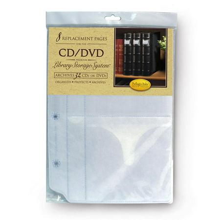 Dmc Stitchbow Binder Insert - Bellagio-Italia Two DVD Binder Insert Packs