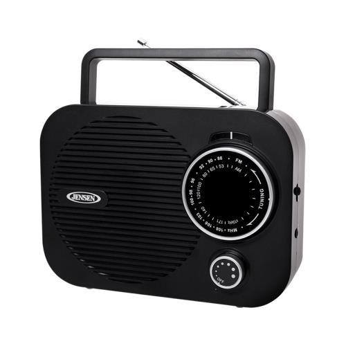 Mr550bk Black Portable Am Fm Radio W/ Auxillary Input ( MR550BK), Jensen Mr550bk Black Portable Am Fm Radio W/ Auxillary Input By Jensen