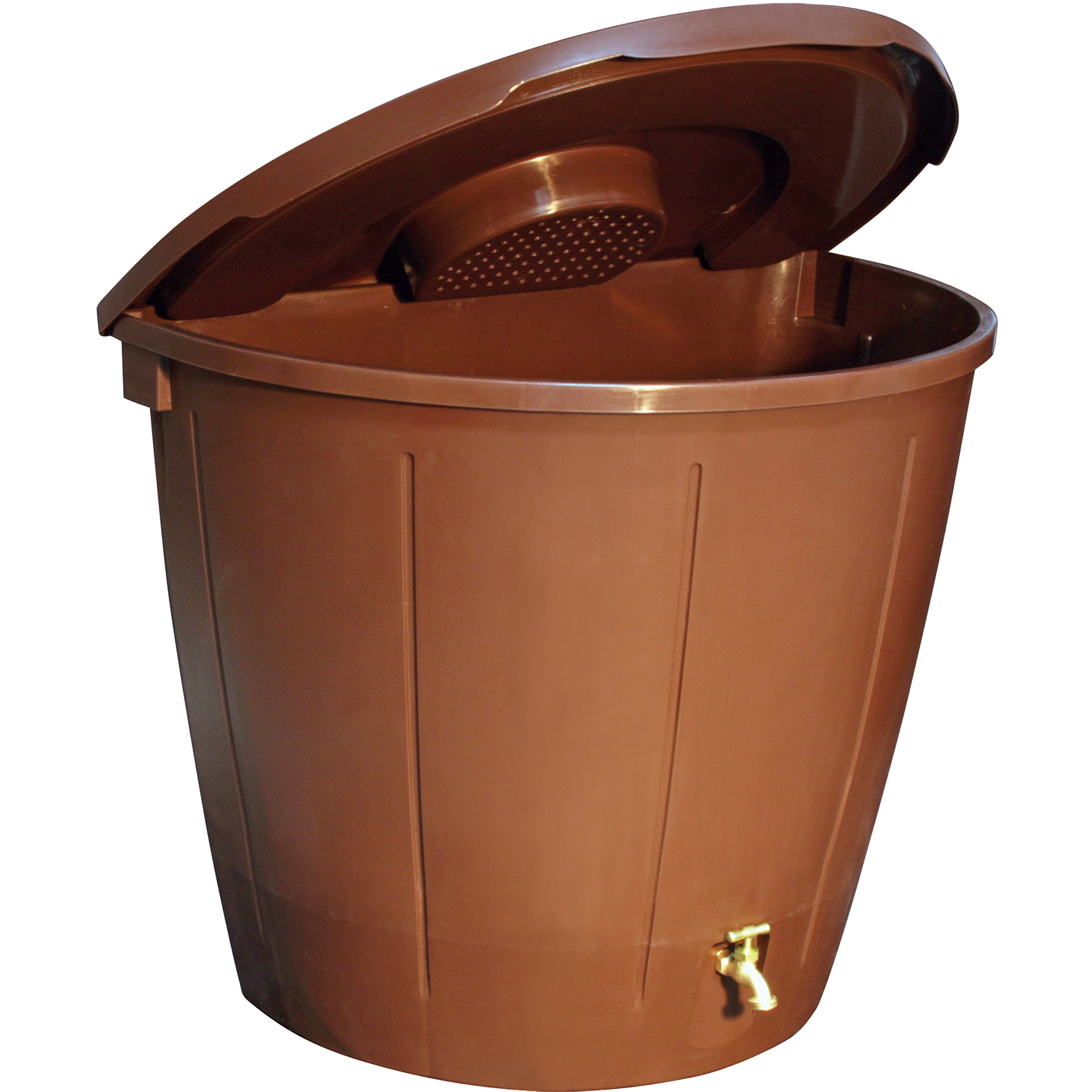 Koolscape 50 gal Space-Saver Rain Barrel with 5 Pots