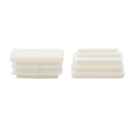 Plastic Rectangle Ribbed Inserts