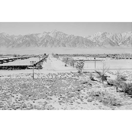 Birds-eye view of center grounds showing buildings roads and mountains in background  Ansel Easton Adams was an American photographer best known for his black-and-white photographs of the American (Americas Best Eye Reviews)
