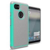 CoverON Google Pixel XL 2 Case, HexaGuard Series Hard Phone Cover