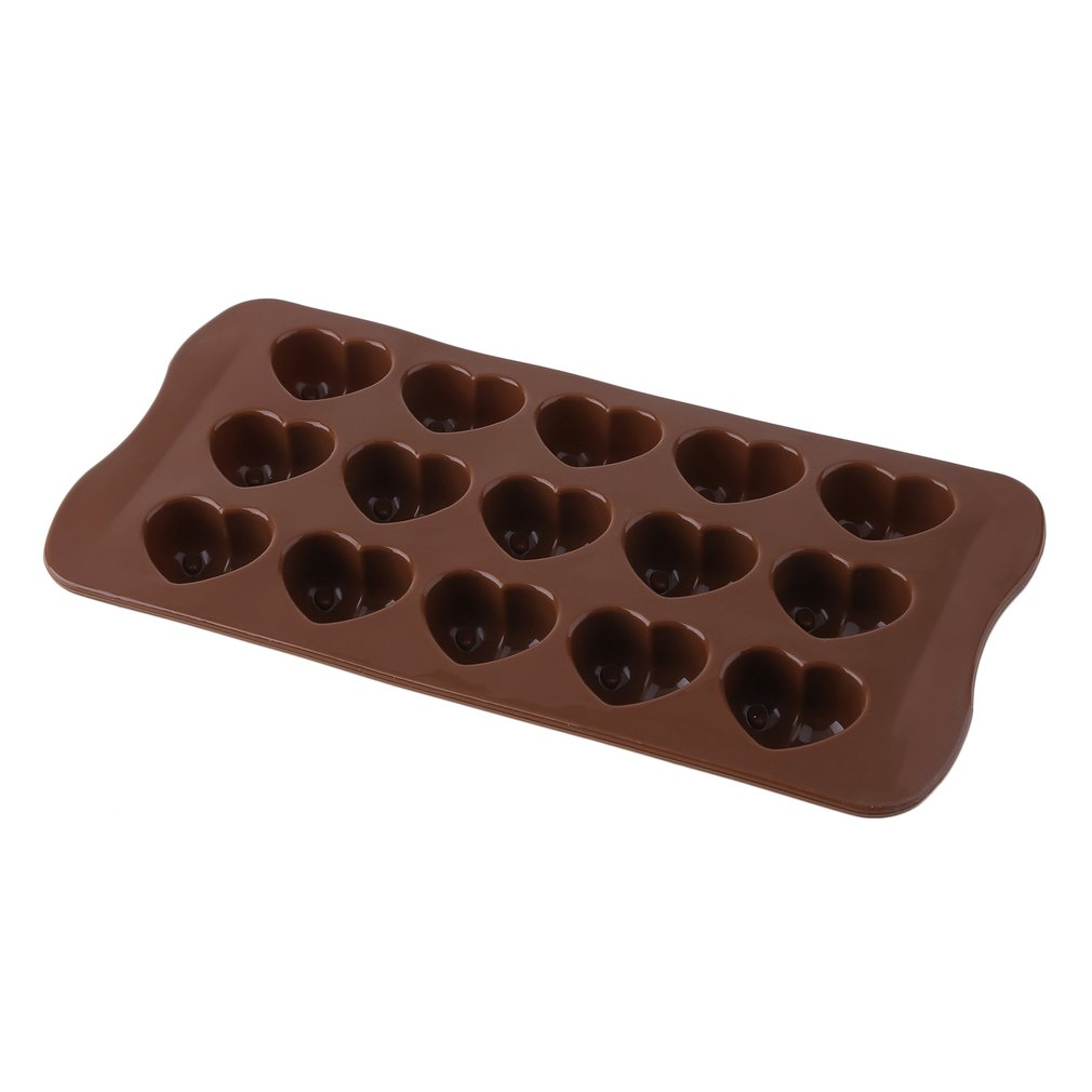 Click here to buy Silicone Ice-Cube Chocolate Cake Jelly Tray Pan Heart Maker Mold Mould.