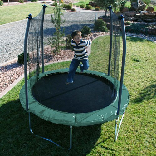 Skywalker 10-ft. Round Trampoline with Enclosure