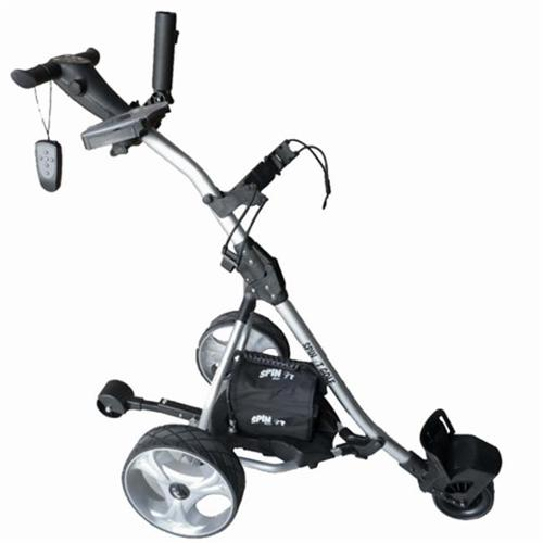 Spin It Golf Products GC1R-Slv Remote Controlled Electric...