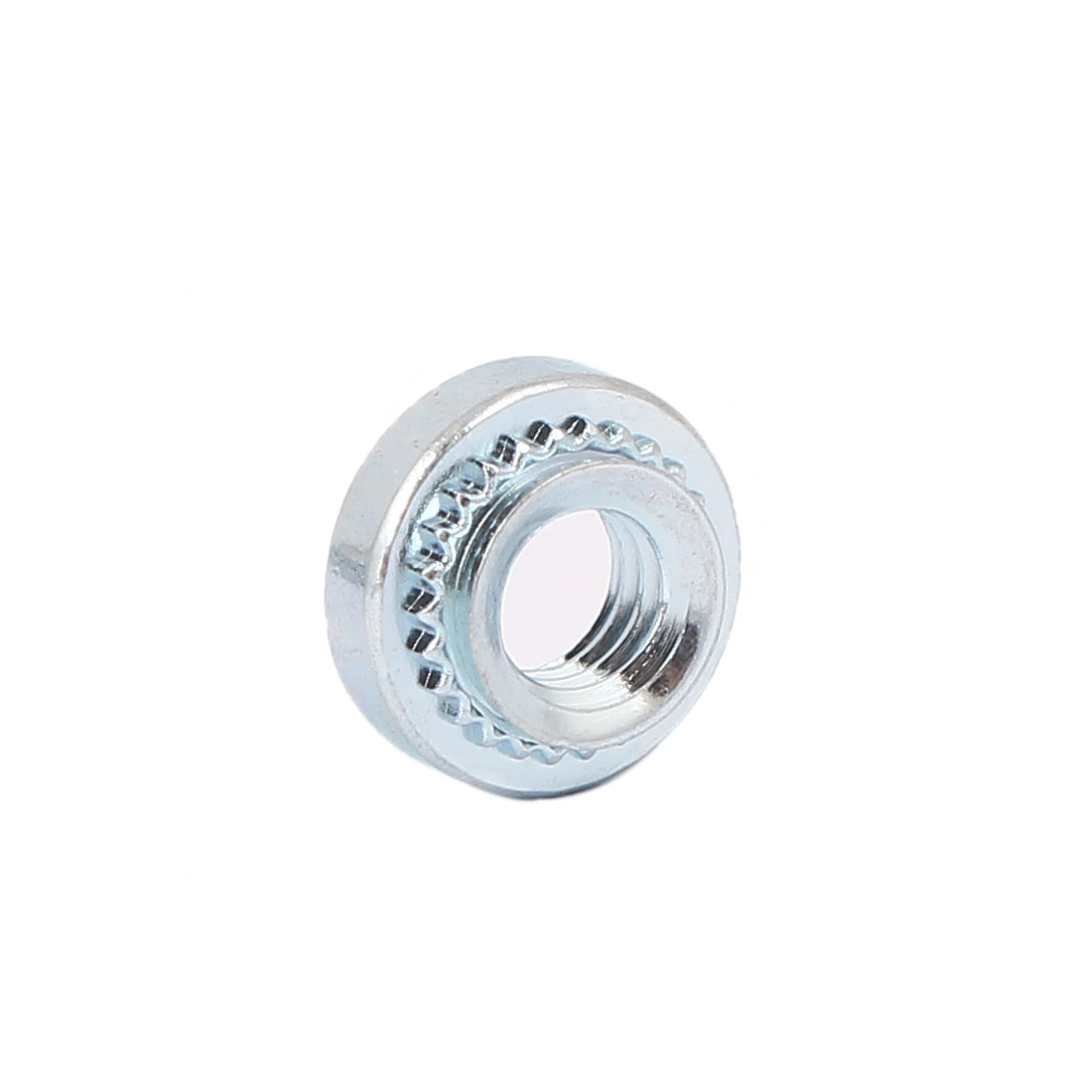 M4 Carbon Steel Self Clinching Rivet Nut Fastener 200pcs for 1.4mm Thin Plates - image 2 of 3