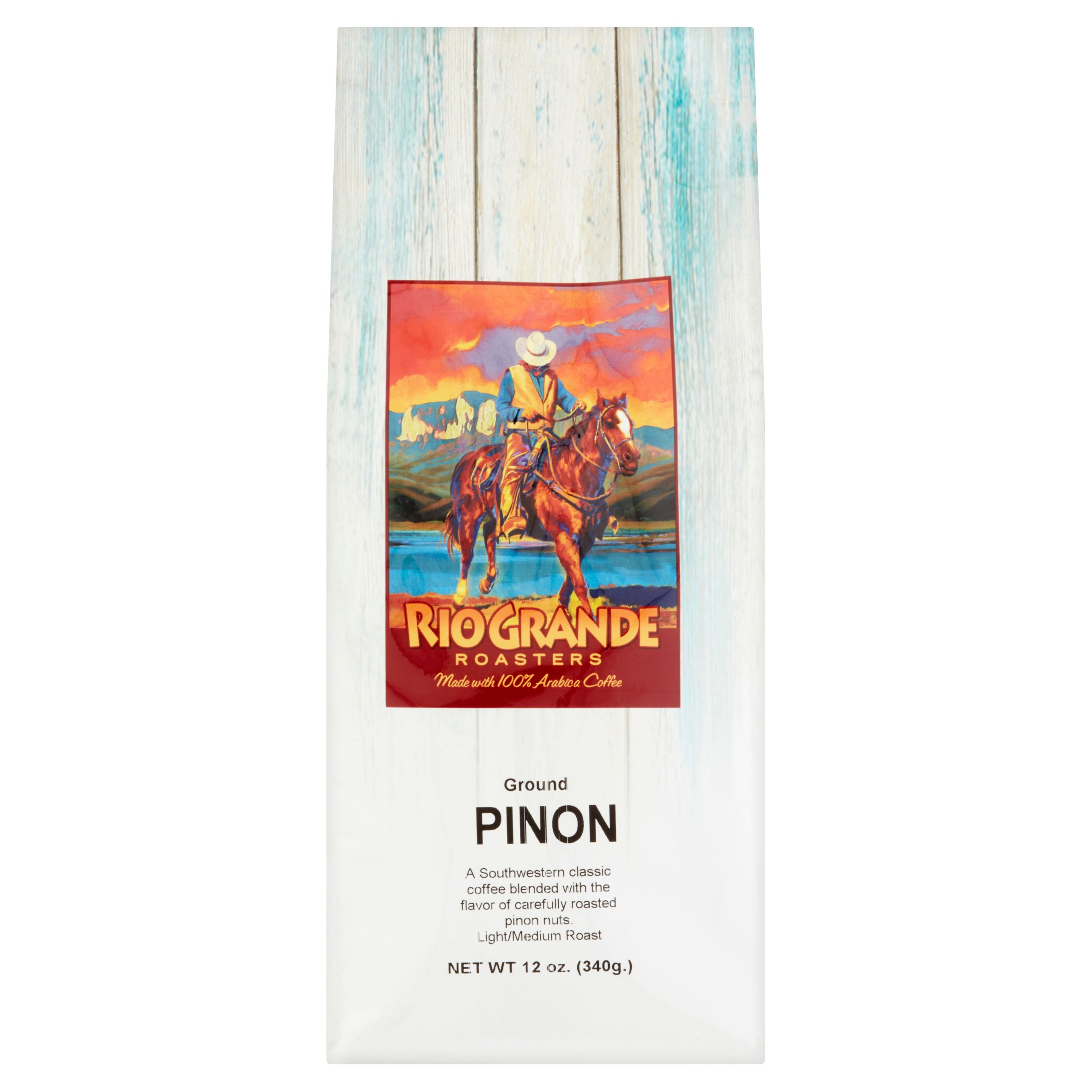 Rio Grande Roasters Pinon Ground Coffee, 12 oz