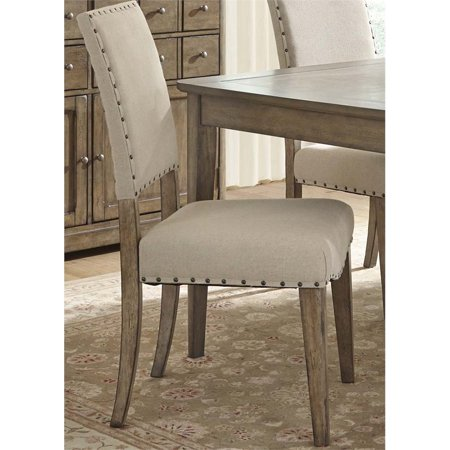 Liberty Furniture Weatherford Upholstered Dining Side Chair in Caramel - image 1 de 1