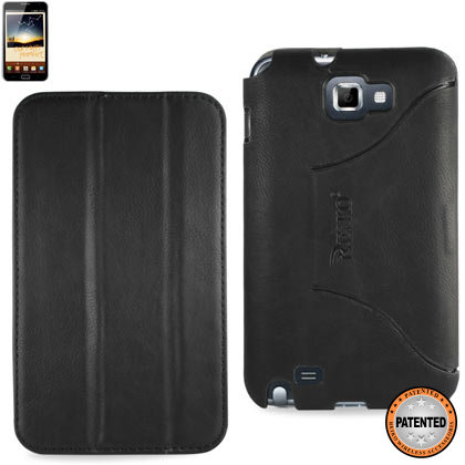 Fitting Case Samsung Galaxy Note I9220 Horse Skin Texture Black