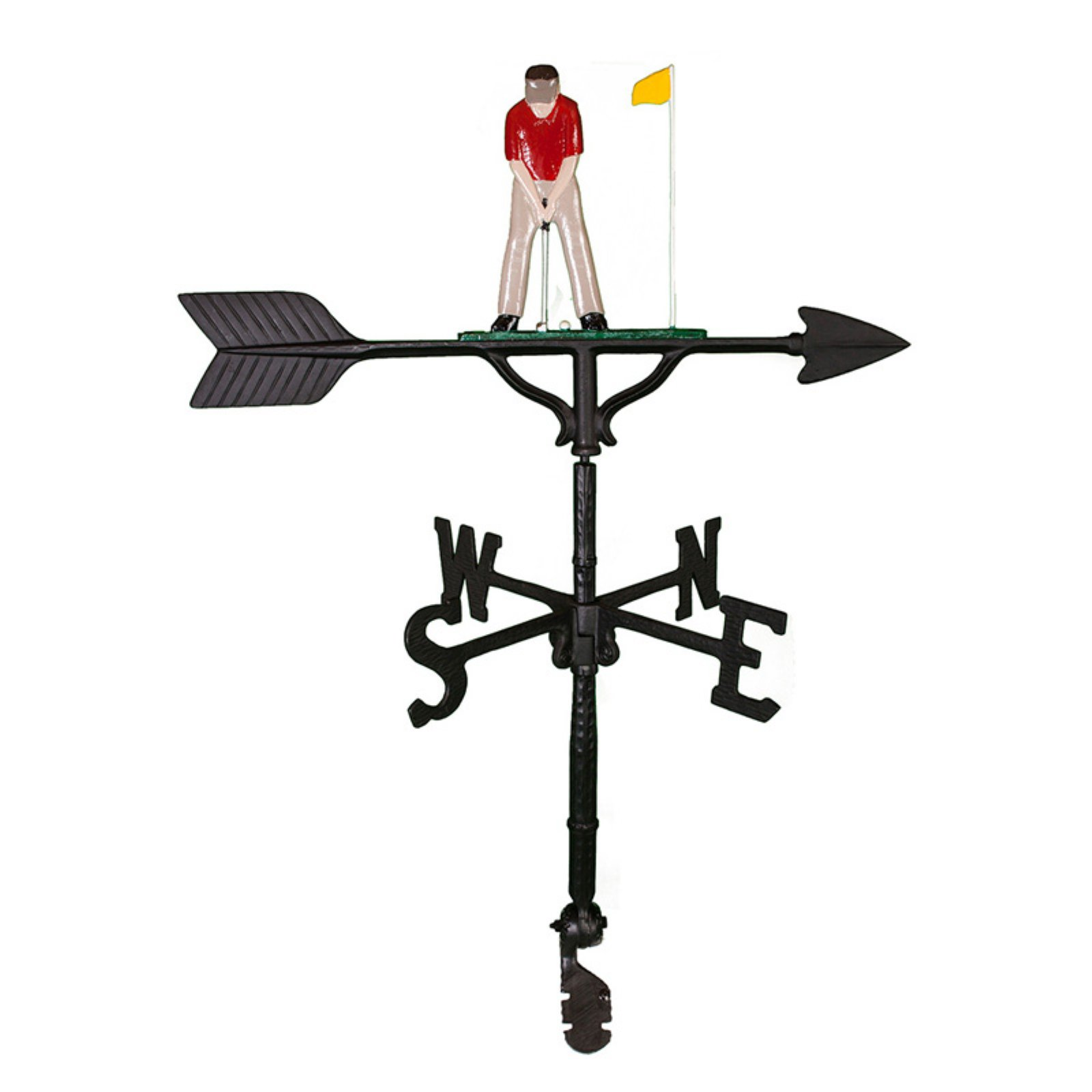 Color Putter Weathervane 32 in. by Montague Metal Products