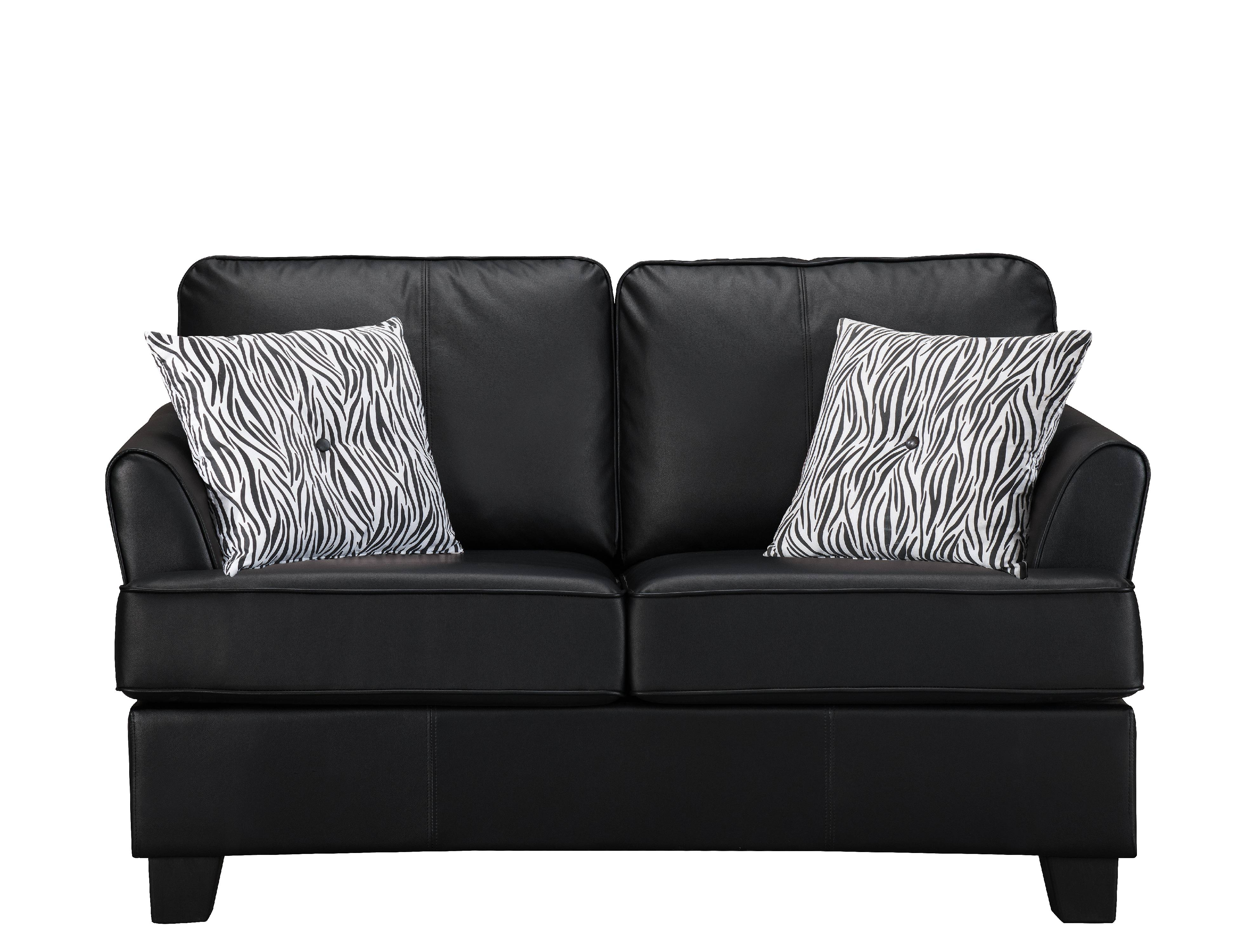 Good Black Faux Leather Twin Size Hide A Bed Sofa Sleeper (Solid Wood Frame)    Walmart.com