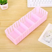 Siaonvr Plastic Organizer Storage Box Tie Bra Socks Drawer Cosmetic Divider