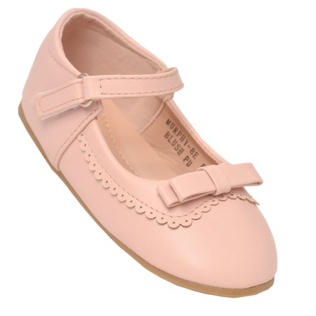 Marie Antoinette Shoes For Sale (Anne Marie Little Girls Blush Scalloped Trim Mary Jane)
