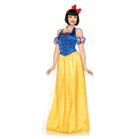 Adult Disney Princess Snow White Costume by Leg Avenue DP85070 (Disney Princess Diy Halloween Costumes For Adults)
