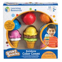 Learning Resources Smart Snacks Rainbow Color Cones