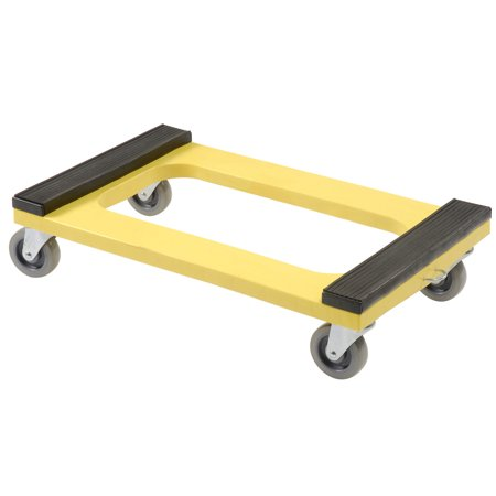 Plastic Dolly with Rubber Padded Deck, 4