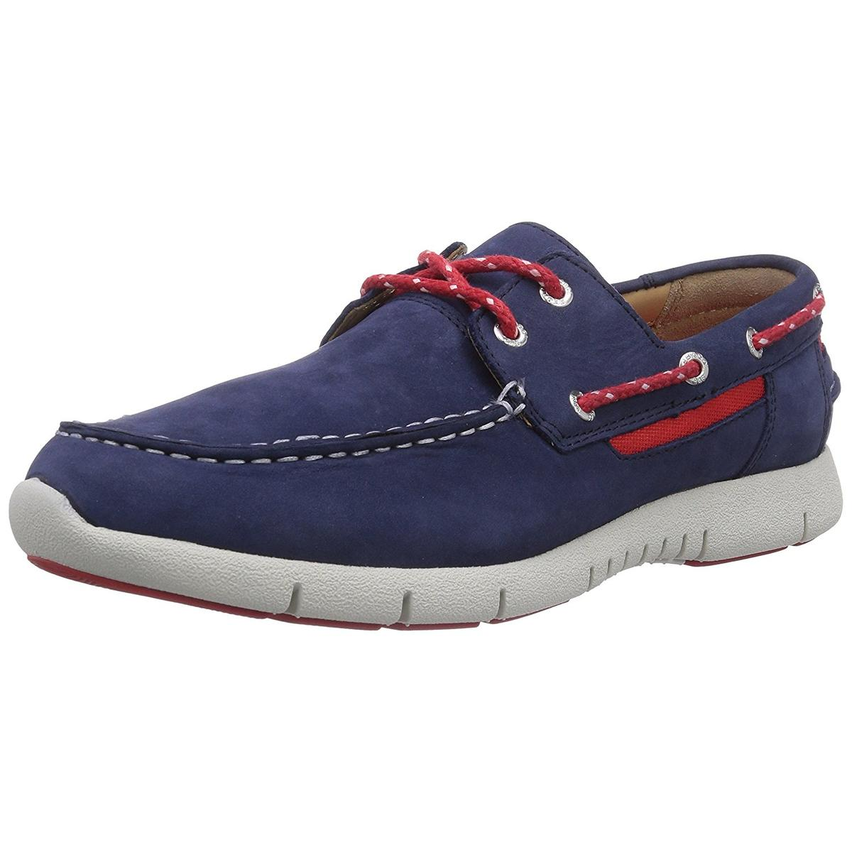 Sebago Kinsley Mens Navy Nubuck Loafers by Sebago