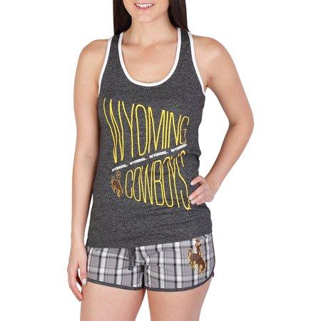 NCAA Wyoming Lateral Ladies' Short/Tank Set
