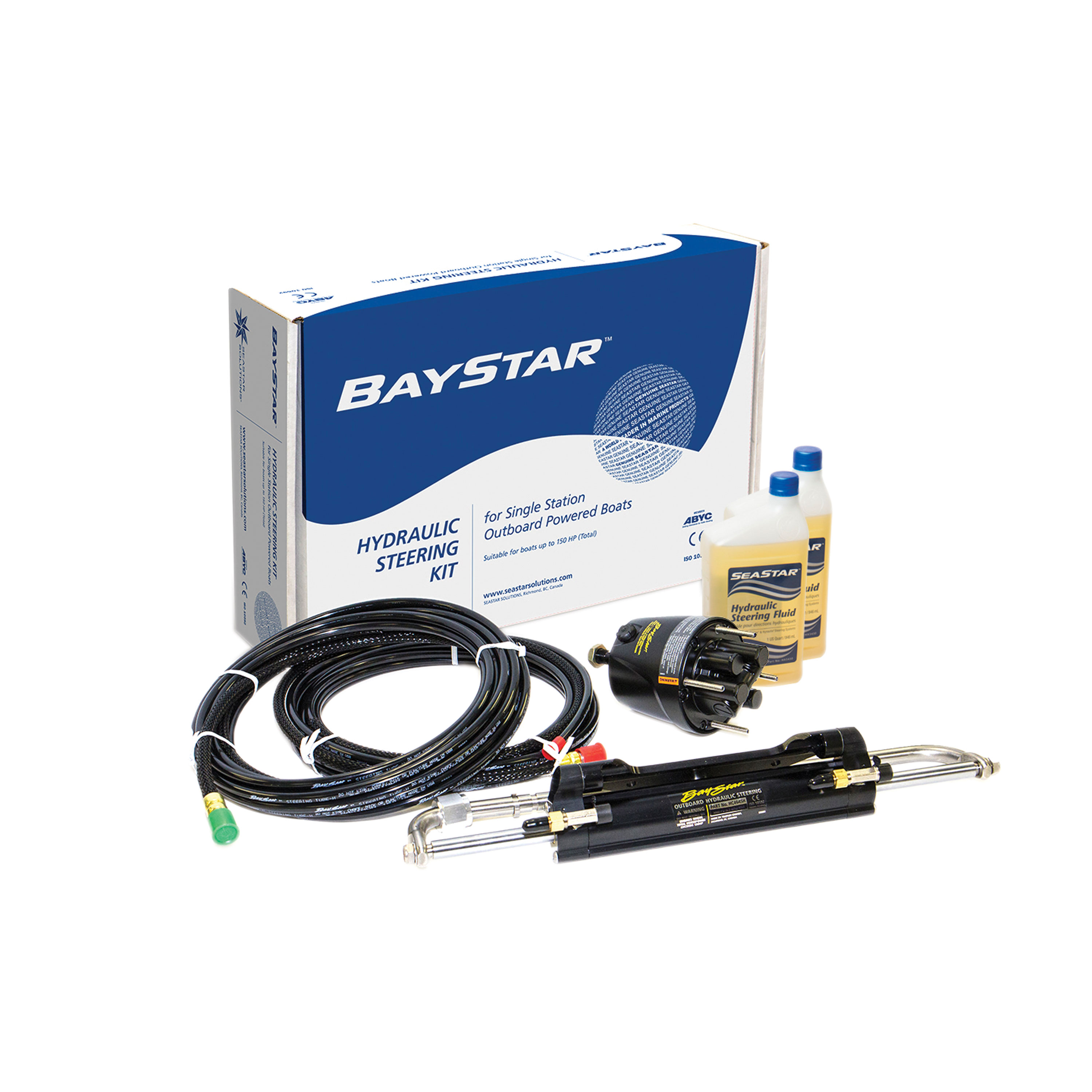 Sea Star Solutions HK4200A-3 Baystar Outboard Steering Kit
