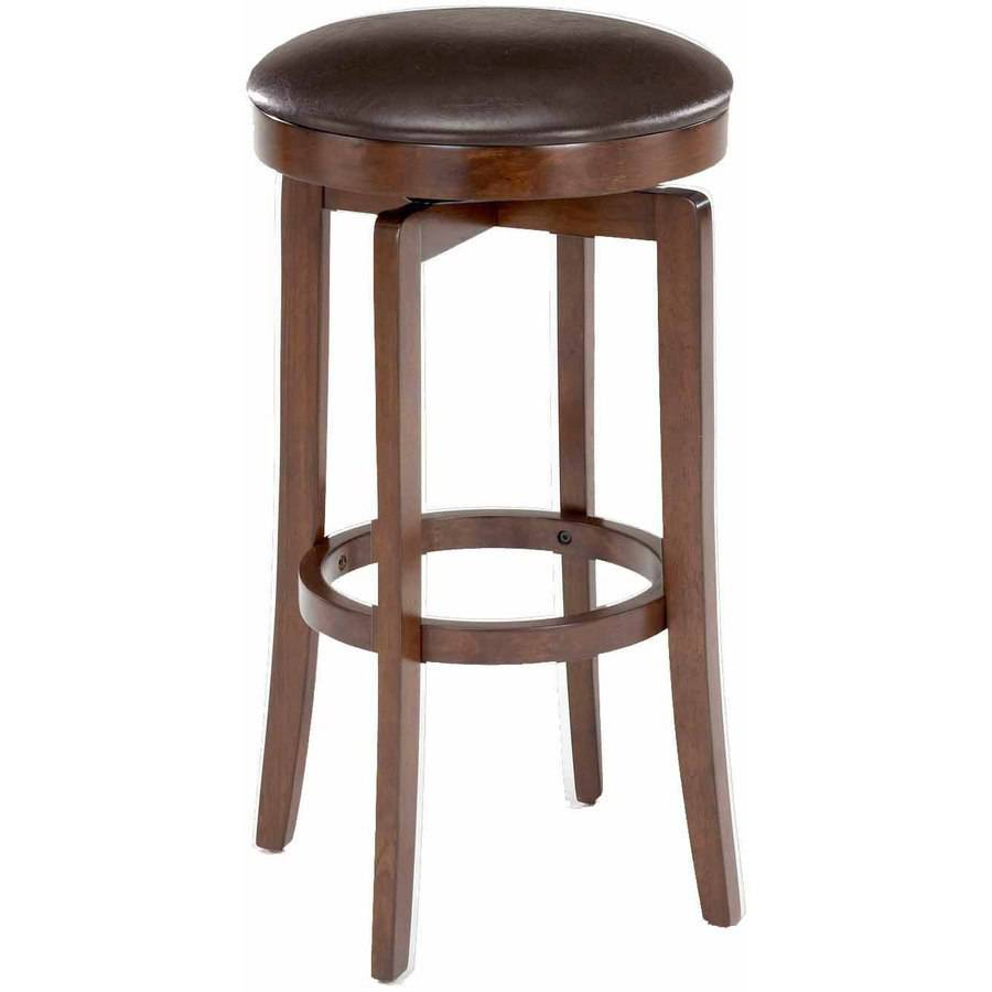 O Shea Backless Counter Stool Brown Cherry Walmart Com