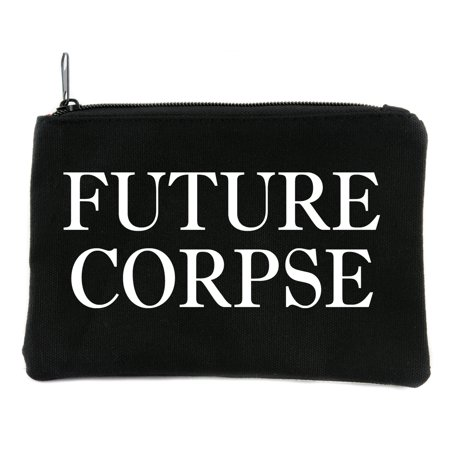 Future Corpse Cosmetic Makeup Bag Pouch Alternative Gothic - Gothic Make Up