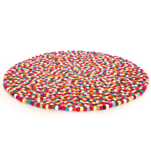 Juguete Para Bebe Walk On Me Happy as Larry Original Felt Ball Kids Round Rug + juguetes para bebes en VeoyCompro.net