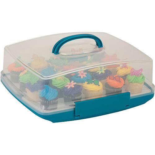 Honey-Can-Do Rectangular Cake Storage Carrier