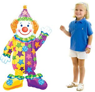"44"" JUGGLES AIRWALKER  BALLOON - Party Supplies"